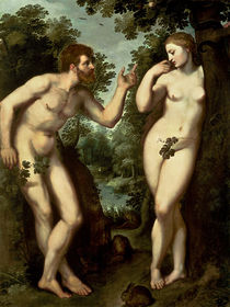 Adam and Eve, c.1599 von Peter Paul Rubens