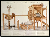 Tobacco Sieving Machine from the Royal Tobacco Factory in Mexico von Spanish School