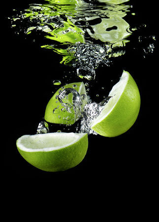 Limetten splash