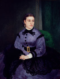 Portrait of Mademoiselle Sicot by Pierre-Auguste Renoir