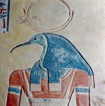The god Thoth, from the Tomb of Prince Khaemwaset II by Egyptian 20th Dynasty