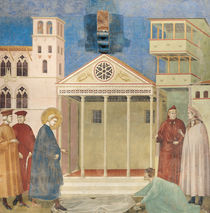 St. Francis Honoured by a Simple Man by Giotto di Bondone