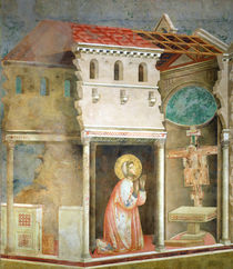 St. Francis Praying in the Church of San Damiano by Giotto di Bondone