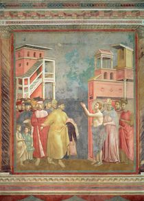 St. Francis Renounces his Father's Goods and Earthly Wealth by Giotto di Bondone