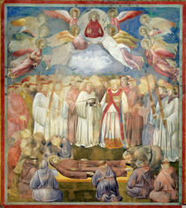 The Death of St. Francis, 1297-99 by Giotto di Bondone