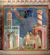 St. Francis Releases the Heretic by Giotto di Bondone