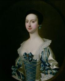 Anne Bateman, later Mrs. John Gisbourne von Joseph Wright of Derby