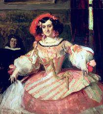 Portrait of Maria Guerrero von Joaquin Sorolla y Bastida