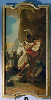 Hannibal with the Head of his brother Hasdrubal by Giovanni Battista Tiepolo