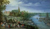 The Annual Parish Fair in Schelle by Jan Brueghel the Elder