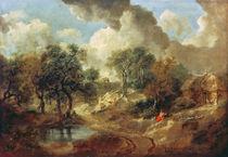 Suffolk Landscape, 1748 von Thomas Gainsborough