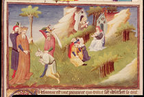 Ms Fr 2810 f.19v, An execution in Afghanistan by Boucicaut Master