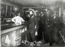 'Soapy' Smith's Saloon Bar at Skagway von American Photographer