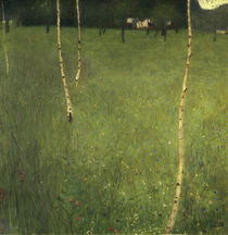 Farmhouse with Birch Trees von Gustav Klimt