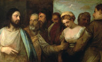 Christ and the adulteress, 1512-15 by Titian