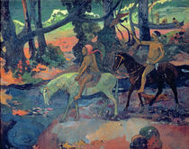 The Escape, The Ford, 1901 by Paul Gauguin