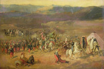 The Capture of the Retinue of Abd-el-Kader or by Emile Jean Horace Vernet