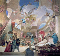 Apotheosis of the Renaissance by Mihaly Munkacsy