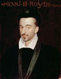 Portrait of Henri III by French School