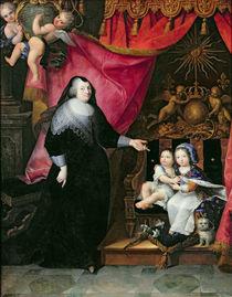 Madame de Lansac and the Children of France von French School