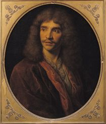 Portrait of Moliere by French School