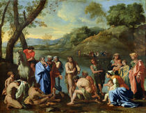St. John Baptising the People by Nicolas Poussin