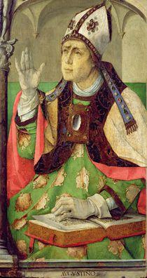 Portrait of St. Augustine, c.1475 by Joos van Gent