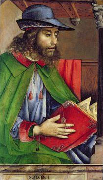 Portrait of Solon c.1475 by Joos van Gent