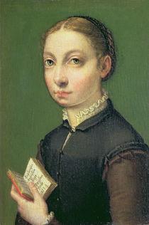 Self portrait, 1554 by Sofonisba Anguissola