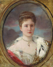 Portrait of Tsarina Alexandra by Henri Gervex