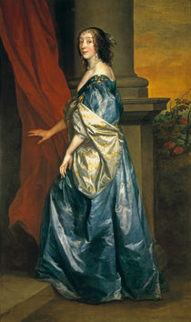 Lucy Percy, Countess of Carlisle c.1637 von Anthony van Dyck