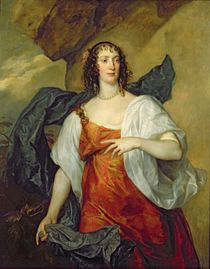 Olivia, Wife of Endymion Porter by Anthony van Dyck