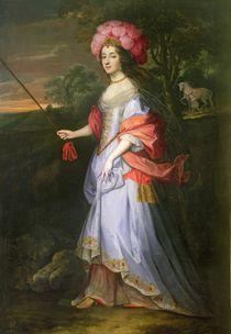 A Lady in Masquerade Costume von John Michael Wright