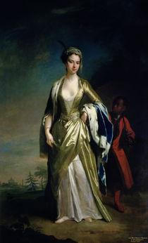 Lady Mary Wortley Montagu, c.1725 by Jonathan Richardson
