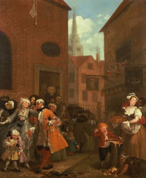 The Four Times of Day: Noon by William Hogarth