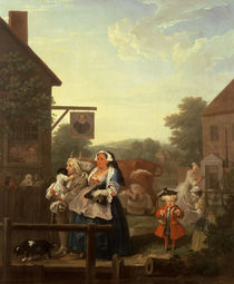 The Four Times of Day: Evening by William Hogarth