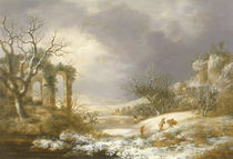 Winter Landscape, c.1750-60 von George, of Chichester Smith