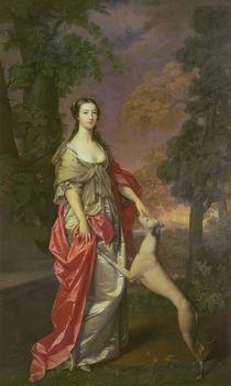 Elizabeth Gunning, Duchess of Hamilton von Gavin Hamilton