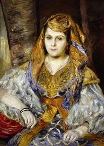 Mme. Clementine Stora in Algerian Dress by Pierre-Auguste Renoir