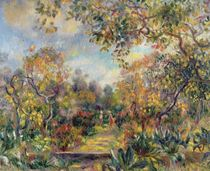 Landscape at Beaulieu, c.1893 by Pierre-Auguste Renoir