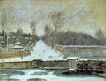 The Watering Place at Marly-le-Roi von Alfred Sisley