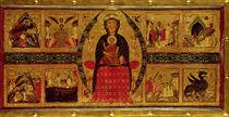 The Virgin and Child Enthroned von di Magnano da Arezzo Margaritone