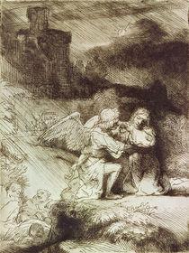 The Agony in the Garden von Rembrandt Harmenszoon van Rijn