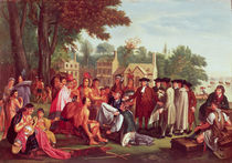 William Penn's Treaty with the Indians in 1683 by Benjamin West