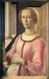 Smeralda Bandinelli, grandmother of the sculptor Baccio Bandinelli by Sandro Botticelli