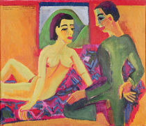 The Couple, 1923 by Ernst Ludwig Kirchner