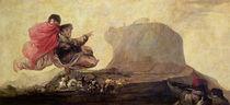 Fantastic Vision 1821-23 by Francisco Jose de Goya y Lucientes