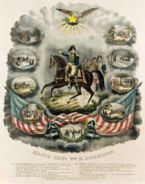 Major General William Henry Harrison by J.C. Richard