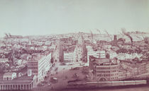 View of Utica City, New York State by American School