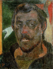 Self Portrait, c.1890-93 by Paul Gauguin